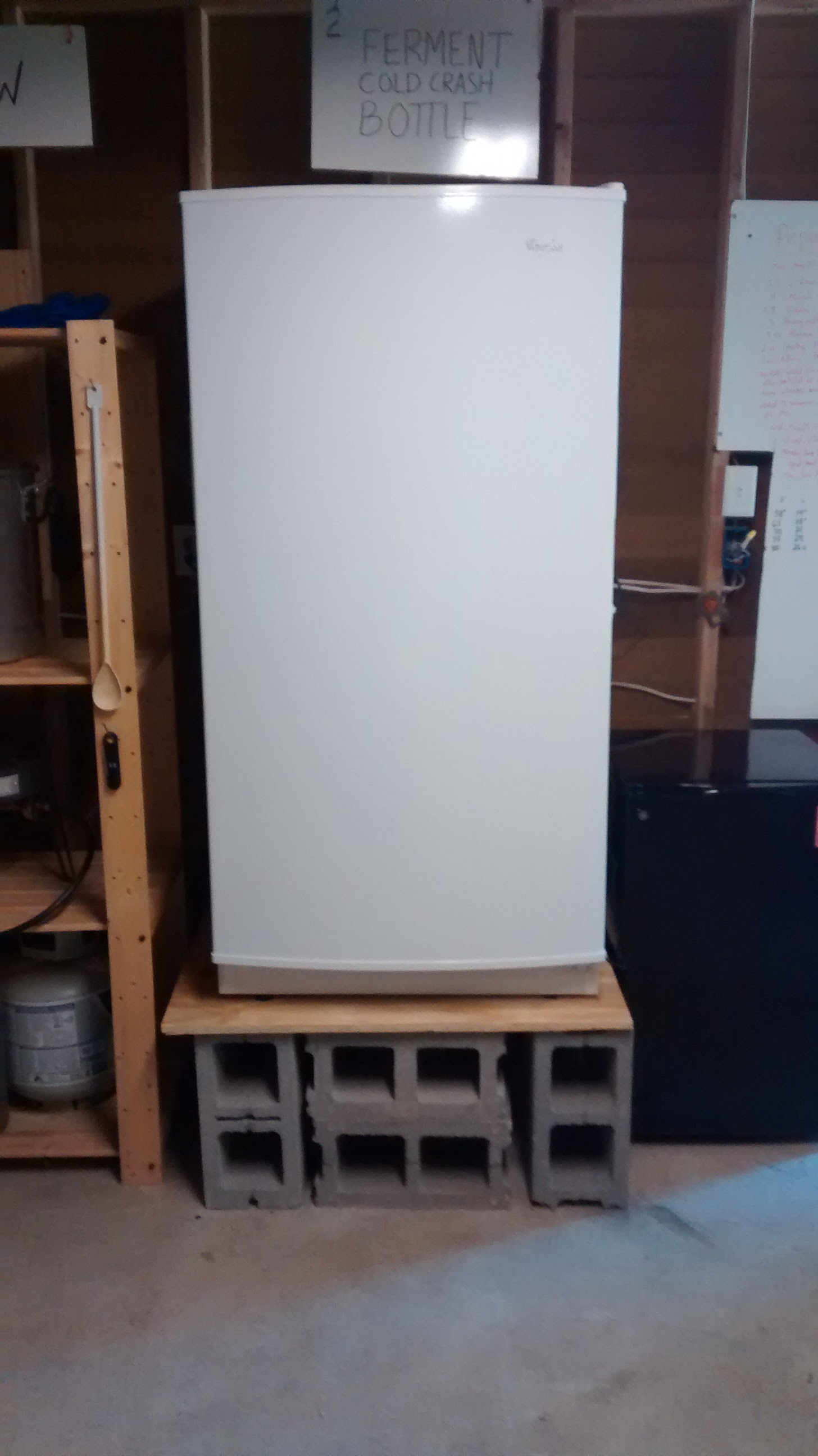 New Upright Freezer: the Solution to Bottling from a
